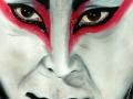 La maschera kabuki 30x40