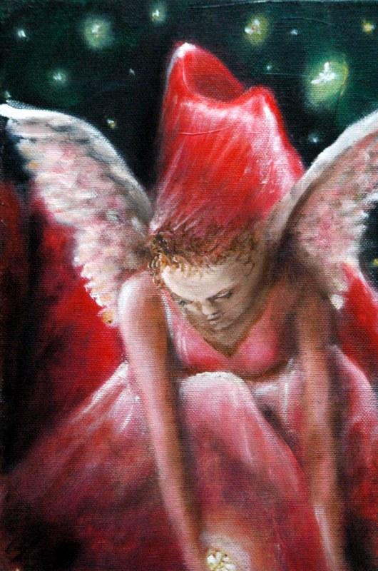 Piccola fata, 2006, olio su tela, 20x30