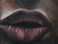 Il bacio, 2006, olio su tela, 24x18
