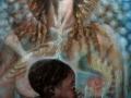 Madre alchemica, 2006, olio su tela, 60x120