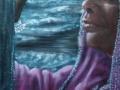 alba 30x60 olio su tela