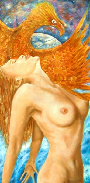 _Nun, La guardiana della grande opera, 2007, olio su tela, 60x120