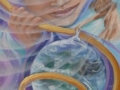 Il gioco della vita - 2008, olio su tela, 40x120