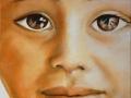 Innocenza - 2008, olio su tela, 30x30