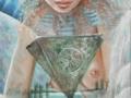 Lontana  Lemuria - 2008, olio su tela, 50x120