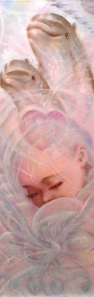 Palpito, olio su tela, 2009, 30x90