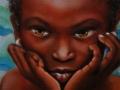 Ricordi, olio su tela, 2008, 30x30