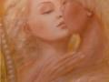 Un amore infinito, olio su tela, 2009, 40x120