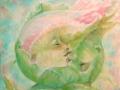 Fusione alchemica,olio su tela,2010,60x50