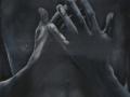IL DONO-2011-olio su tela-40x120
