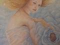 MADRE LUCE ACQUA, olio su tela, 2012, 60x120