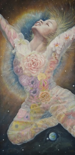 Flowering of Stars, olio su tela, 60x120, 2012 (1)