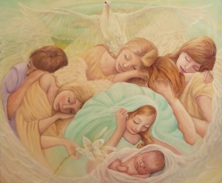 Spirito divino-olio su tela-120x100-2012