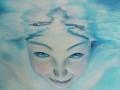 La chiara visione, olio su tela, 60x60, 2012