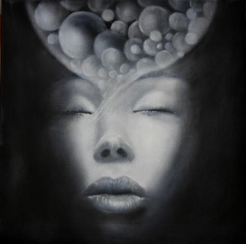 03-Etere - olio su tela,  cm 50x50, 2015 (Copia)