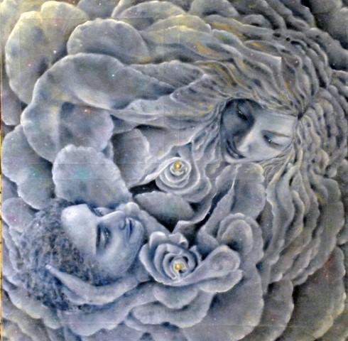 07-L'Unione Divina-olio su tela-100x100-2014- (Copia)