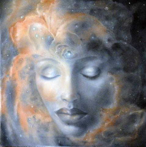 08-Nel respiro di Dio-olio su tela -60x60-2015- (Copia)