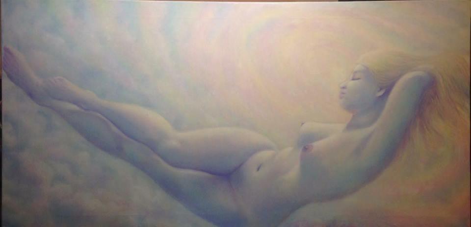 Aurora-olio su tela-120 x60-2016