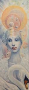 Regina Mundi-olio su tela -2019-40x120